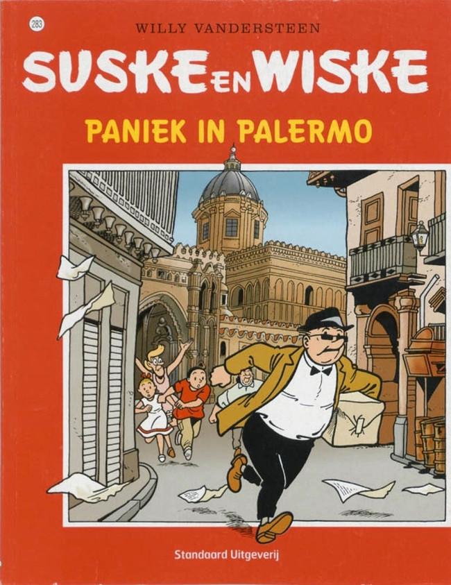 Couverture de Suske en Wiske -283- Paniek in Palermo