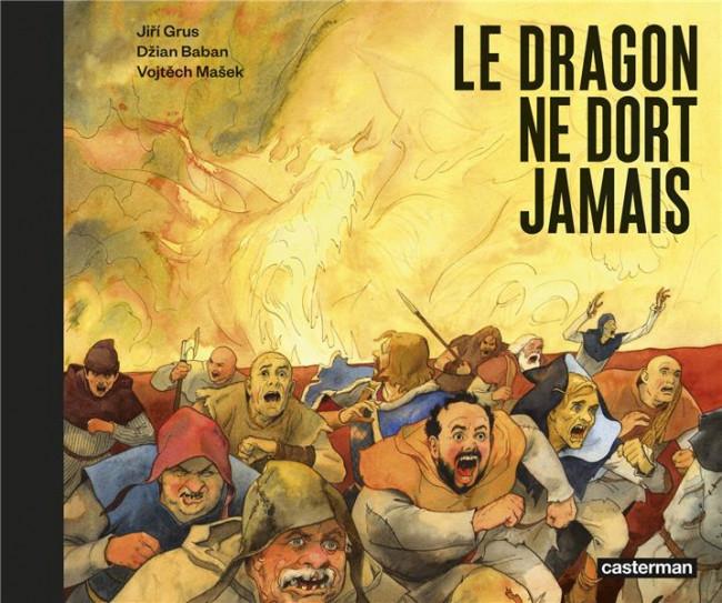 Couverture de Le dragon ne dort jamais
