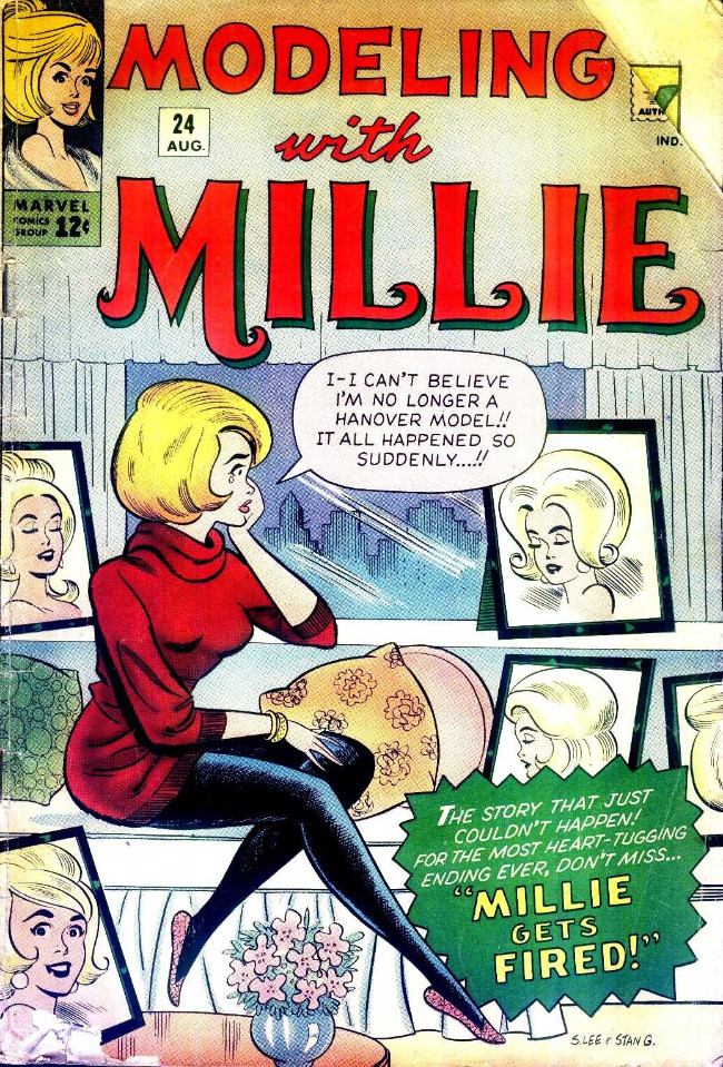 Couverture de Modeling with Millie (Marvel Comics - 1963) -24- Millie Gets Fired!