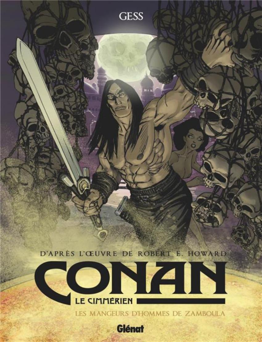 Couverture de Conan le Cimmérien -9- Les Mangeurs d'hommes de Zamboula