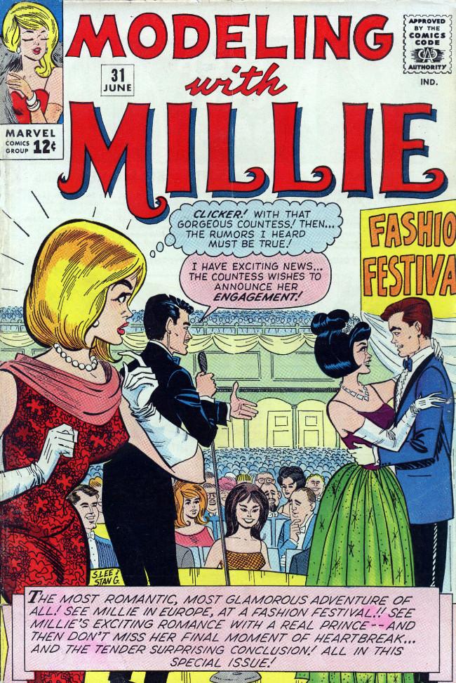 Couverture de Modeling with Millie (Marvel Comics - 1963) -31- (sans titre)