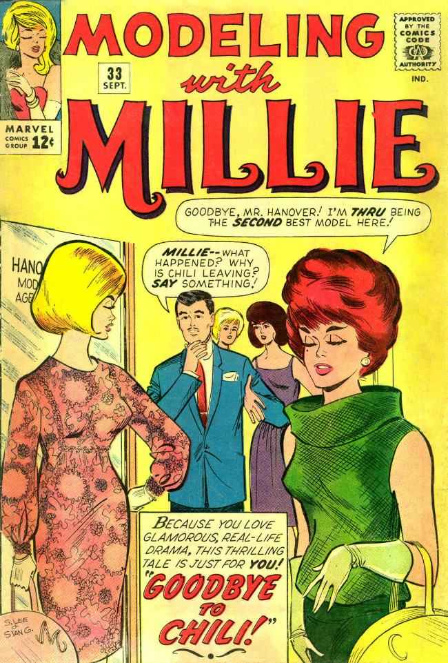 Couverture de Modeling with Millie (Marvel Comics - 1963) -33- Goodbye to Chili!