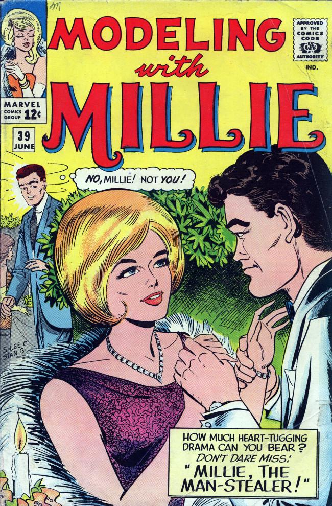 Couverture de Modeling with Millie (Marvel Comics - 1963) -39- Millie, the Man-Stealer!