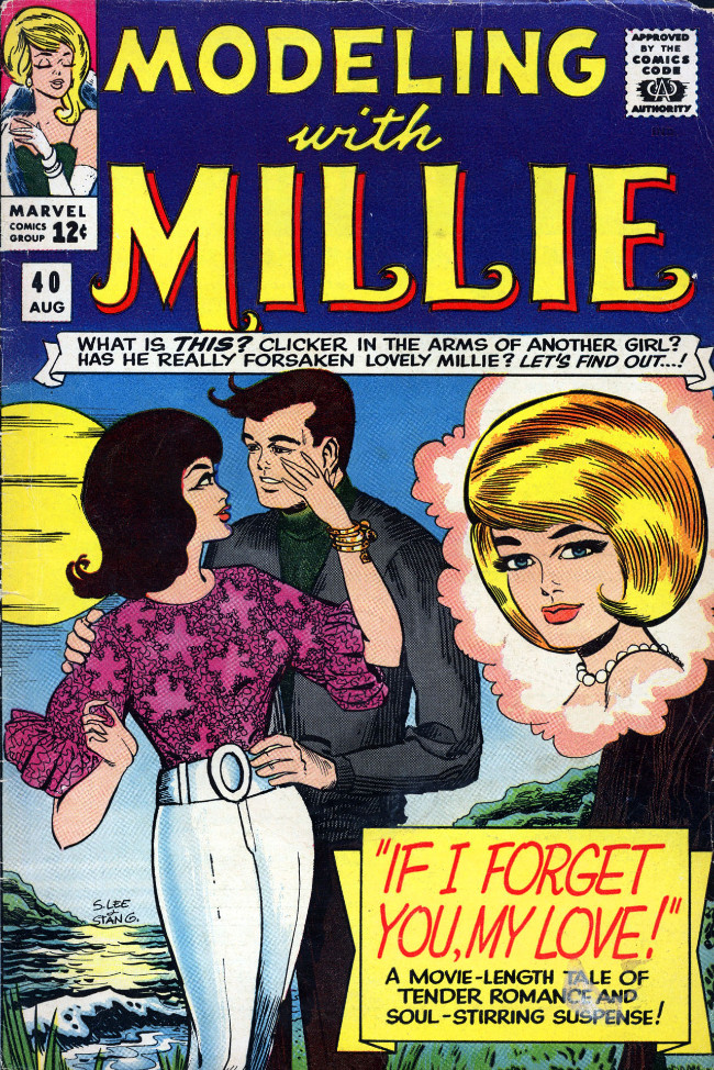 Couverture de Modeling with Millie (Marvel Comics - 1963) -40- If I Forget You, My Love!