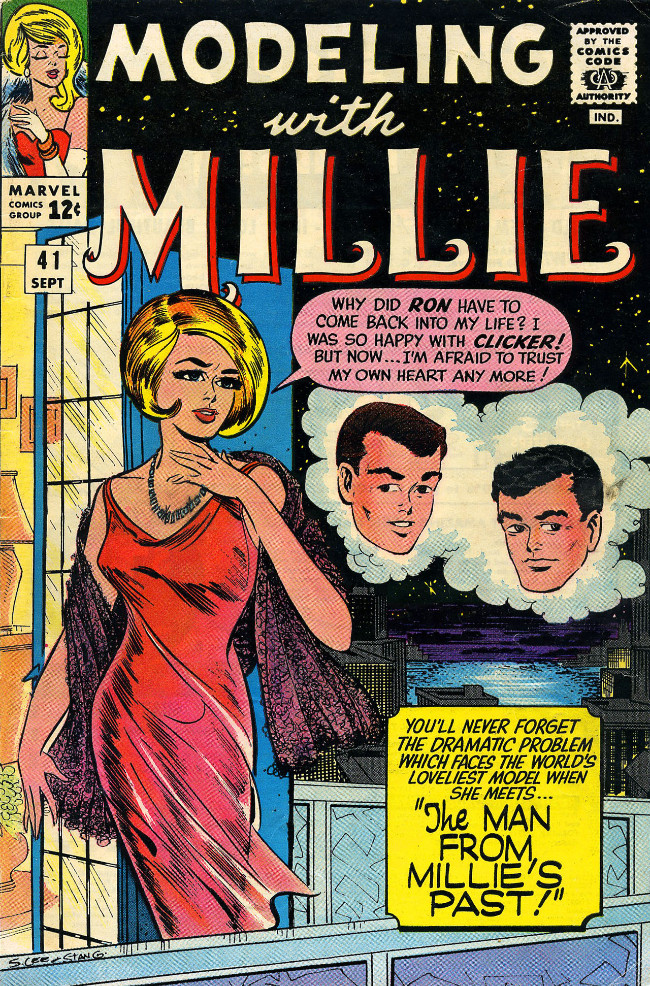 Couverture de Modeling with Millie (Marvel Comics - 1963) -41- The Man From Millie's Past!