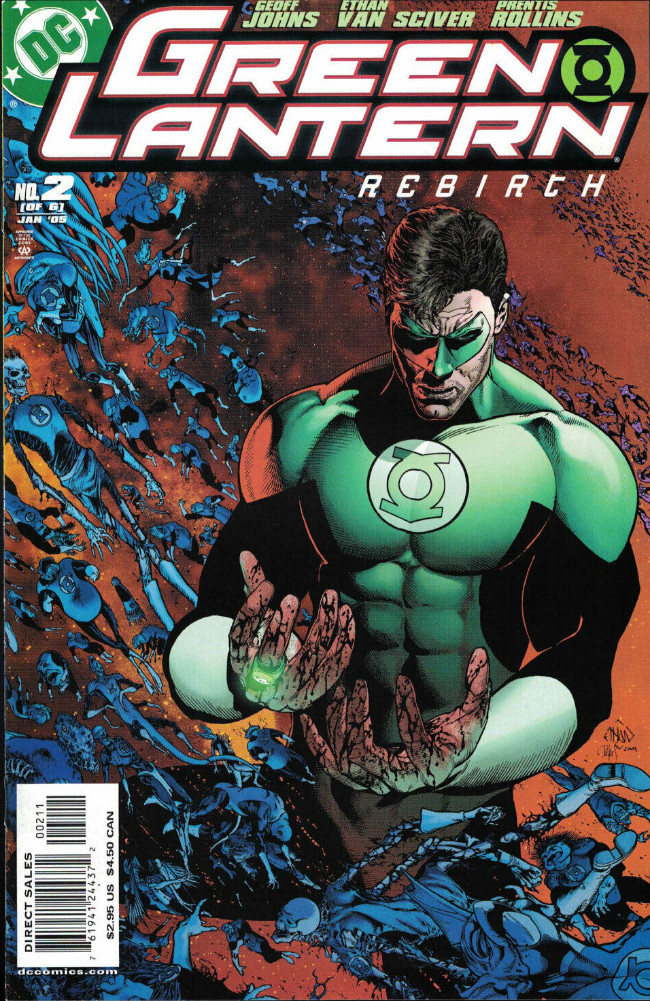 Couverture de Green Lantern: Rebirth (2004) -2- Enemies Within