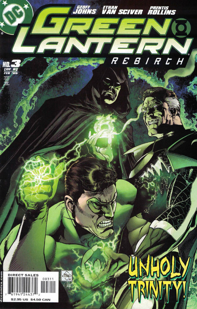 Couverture de Green Lantern: Rebirth (2004) -3- Yellow