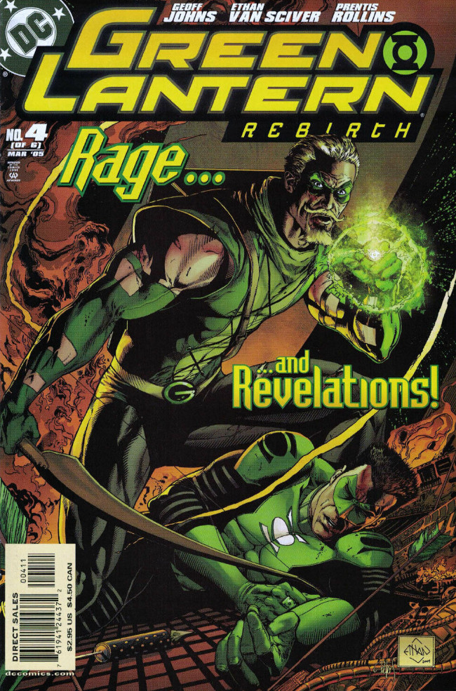 Couverture de Green Lantern: Rebirth (2004) -4- Force of Will