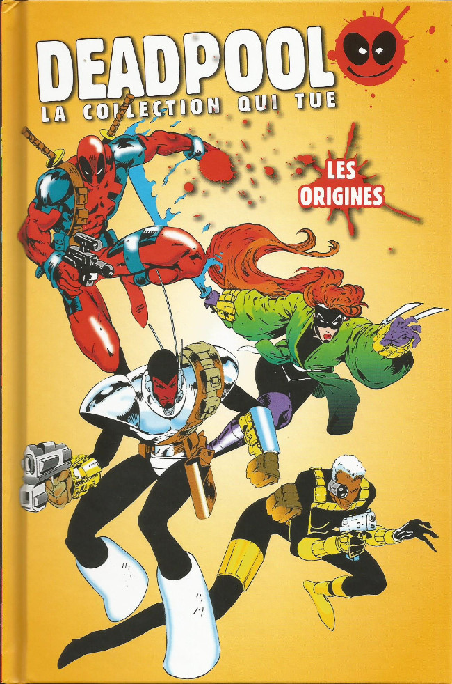 Couverture de Deadpool - La collection qui tue (Hachette) -2202- Les origines
