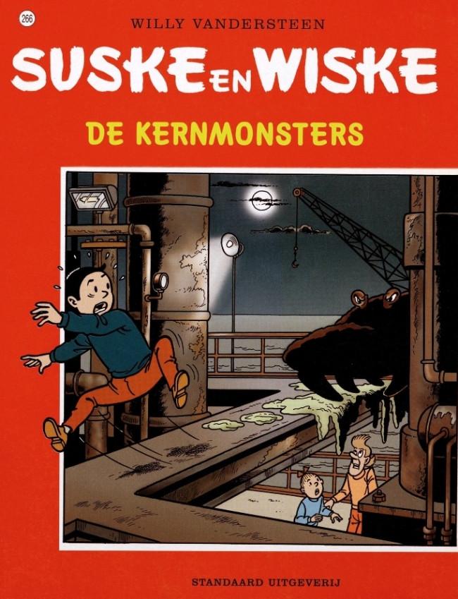 Couverture de Suske en Wiske -266- De kernmonsters