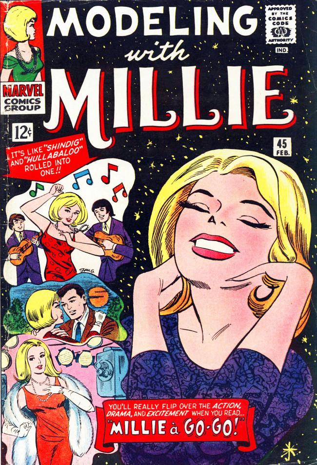 Couverture de Modeling with Millie (Marvel Comics - 1963) -45- Millie a Go-Go!