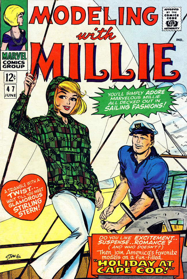 Couverture de Modeling with Millie (Marvel Comics - 1963) -47- Holiday at Cape Cod!