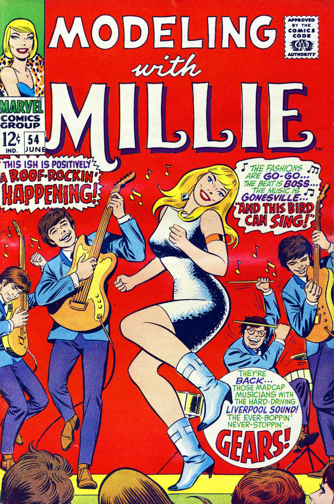 Couverture de Modeling with Millie (Marvel Comics - 1963) -54- And This Bird Can Sing!