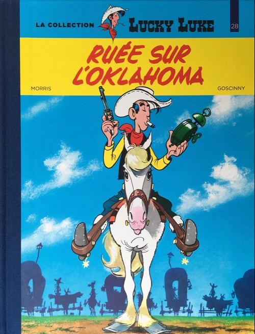 Couverture de Lucky Luke - La collection (Hachette 2018) -2814- Ruée sur l'oklahoma