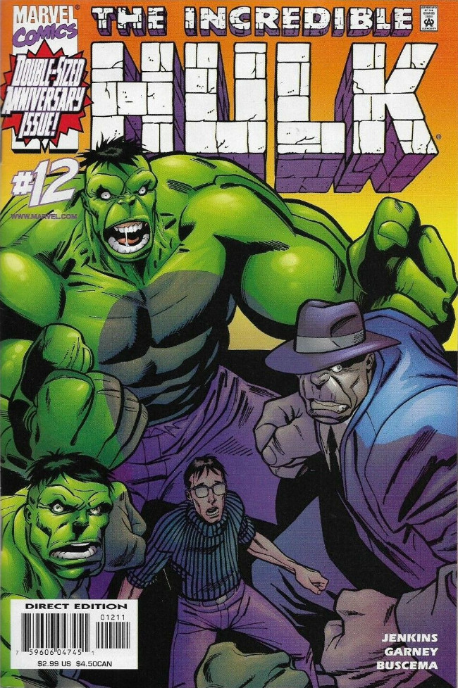 Couverture de Incredible Hulk (The) (Marvel comics - 2000) -12- Snake Eyes, Part 1