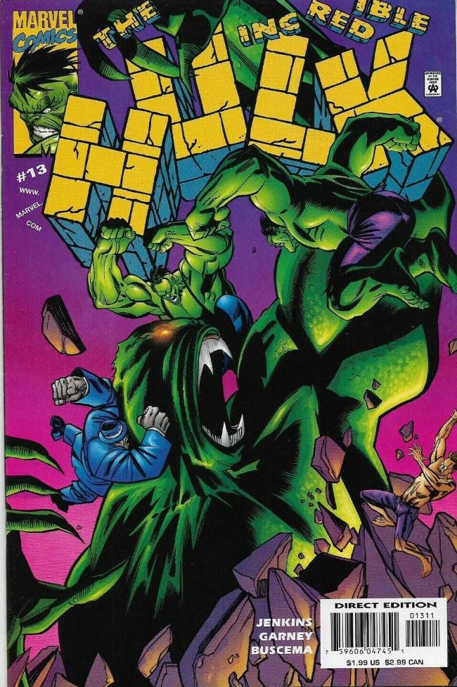 Couverture de Incredible Hulk (The) (Marvel comics - 2000) -13- Snake Eyes, Part 2
