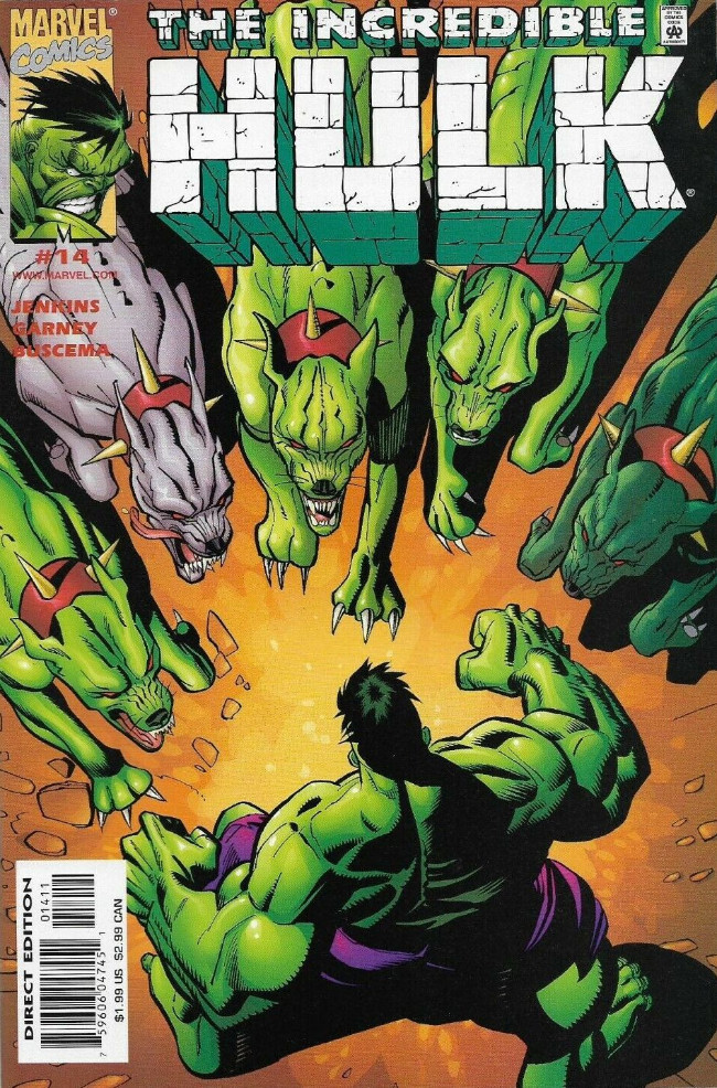 Couverture de Incredible Hulk (The) (Marvel comics - 2000) -14- The Dogs of War, Part 1