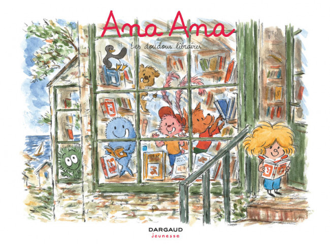 Couverture de Ana Ana -15- Les doudous libraires