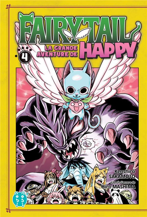 Couverture de Fairy Tail - La grande aventure de Happy -4- Tome 4