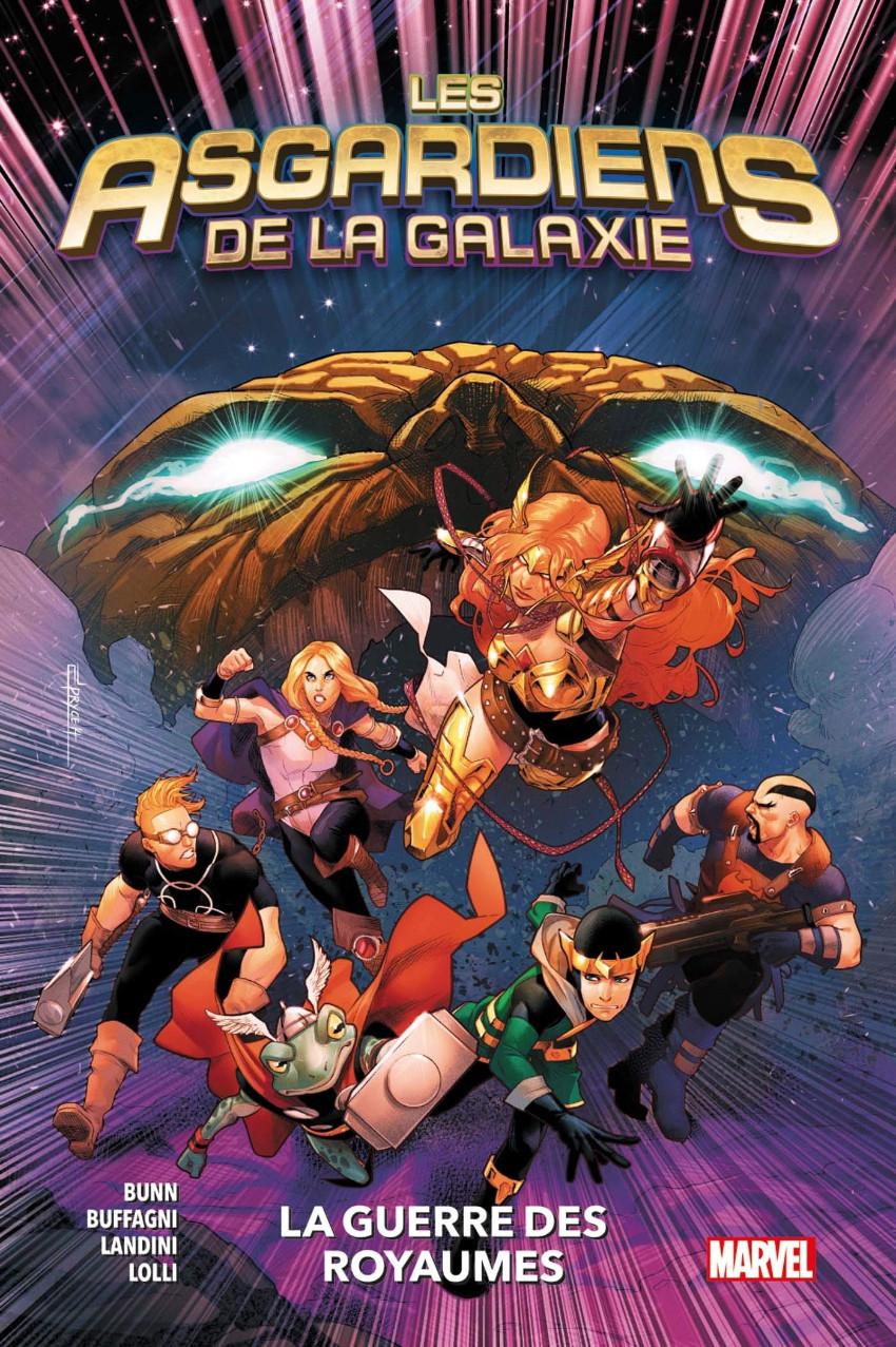 Couverture de Les asgardiens de la galaxie -2- La guerre des royaumes