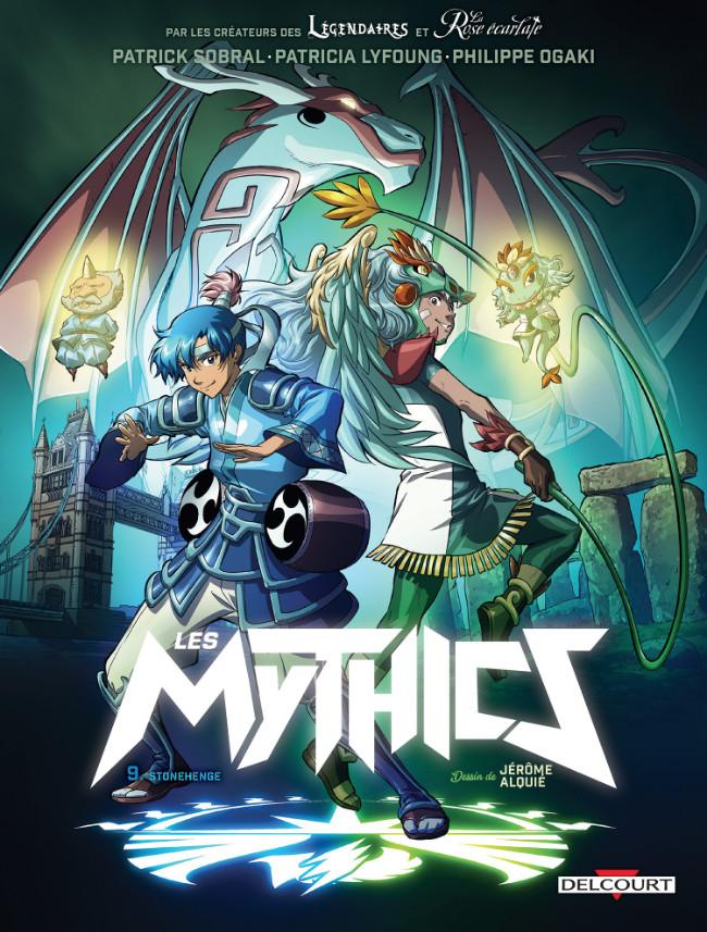 Couverture de Les mythics -9- Stonehenge