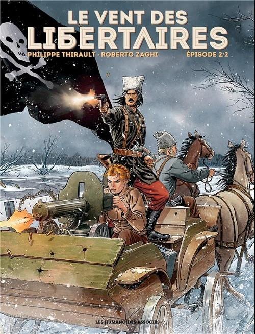 Couverture de Le vent des libertaires -2- Episode 2/2