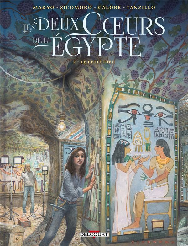 Couverture de Les deux Cœurs de l'Égypte -2- Le petit dieu