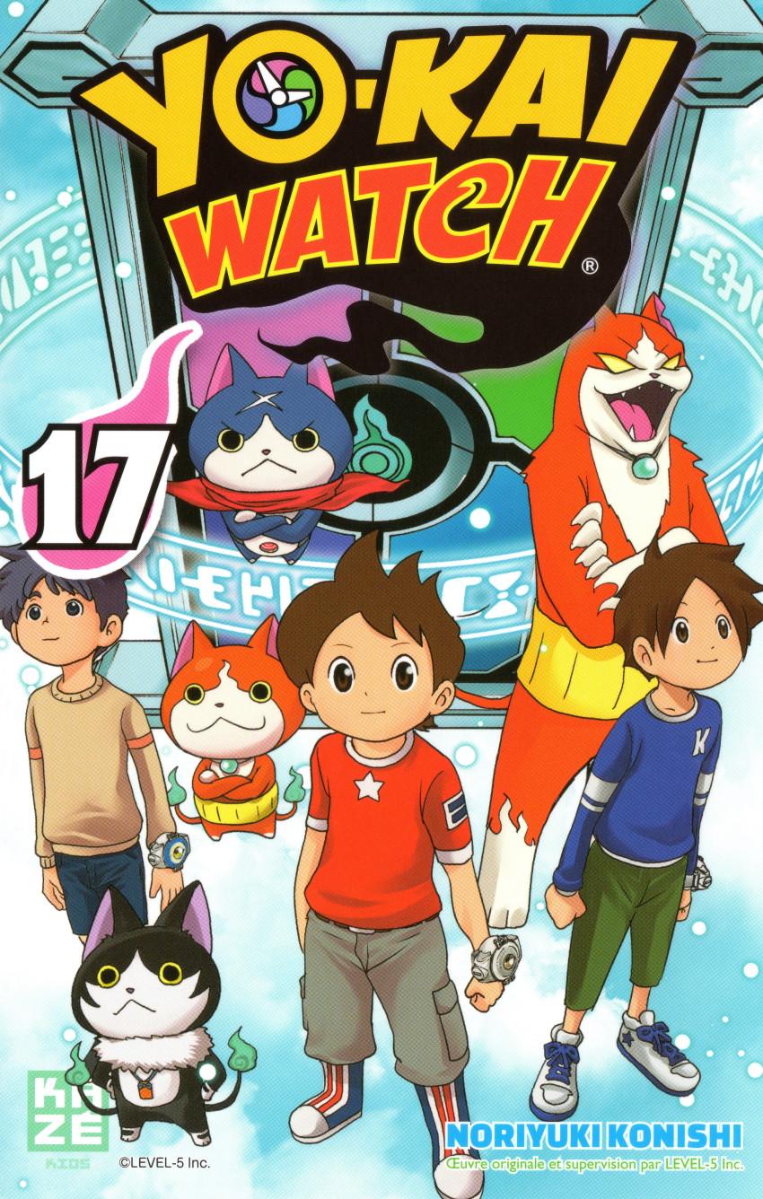 Couverture de Yo-Kai watch -17- Tome 17