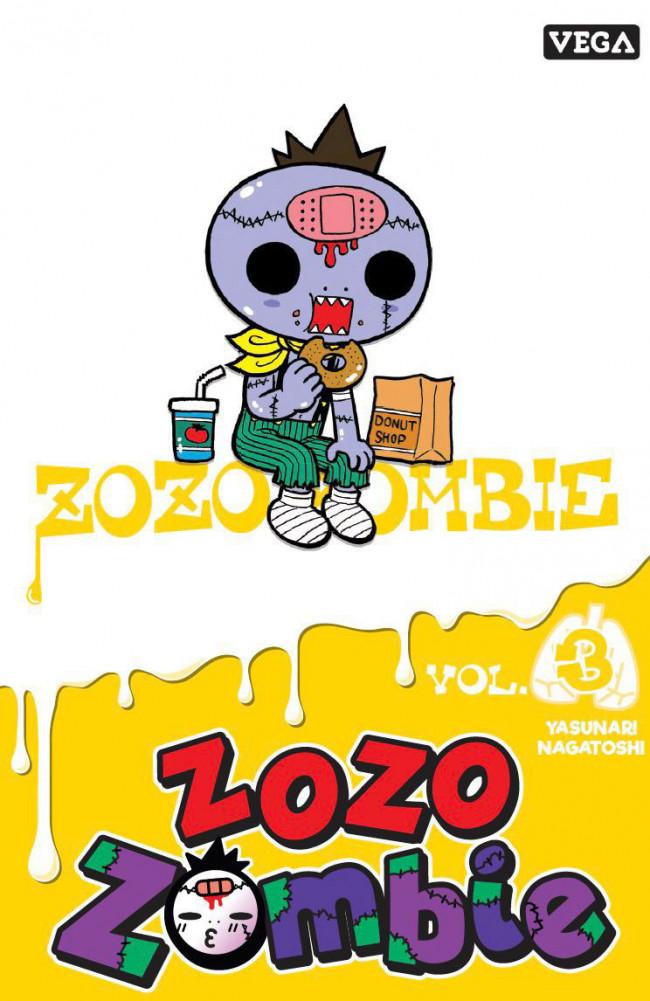 Couverture de Zozo Zombie -3- Vol. 3