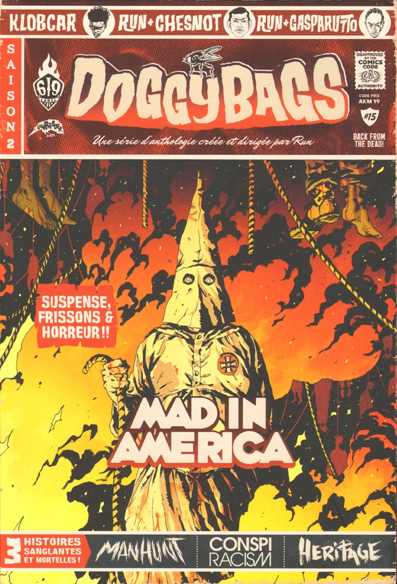 Couverture de Doggybags -15- Mad in America