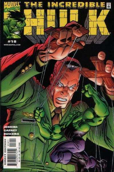 Couverture de Incredible Hulk (The) (Marvel comics - 2000) -18- The Dogs Of War, Part 5