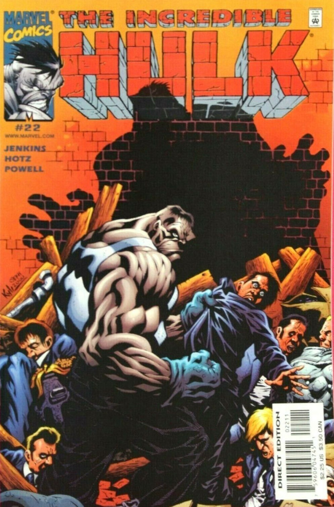 Couverture de Incredible Hulk (The) (Marvel comics - 2000) -22- Desorganized crime, Part 1