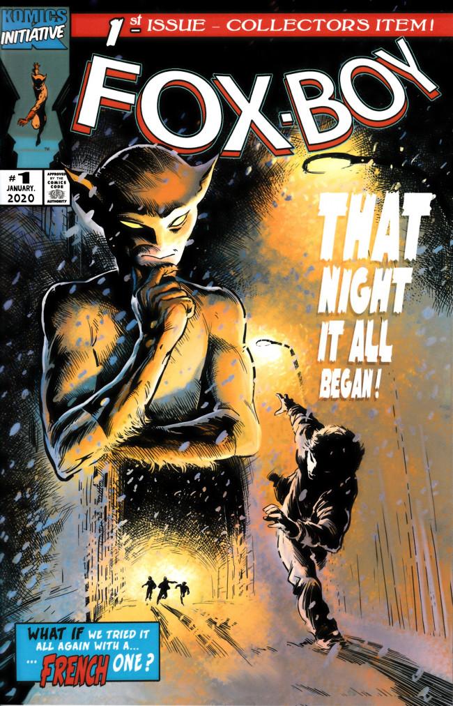Couverture de Fox-Boy (Komics Initiative) -HS- The birth of the Fox-Boy