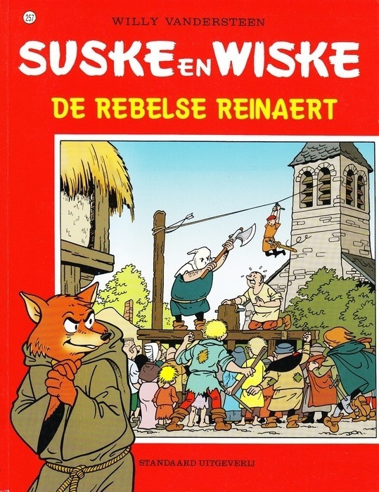 Couverture de Suske en Wiske -257- De rebelse Reinaert