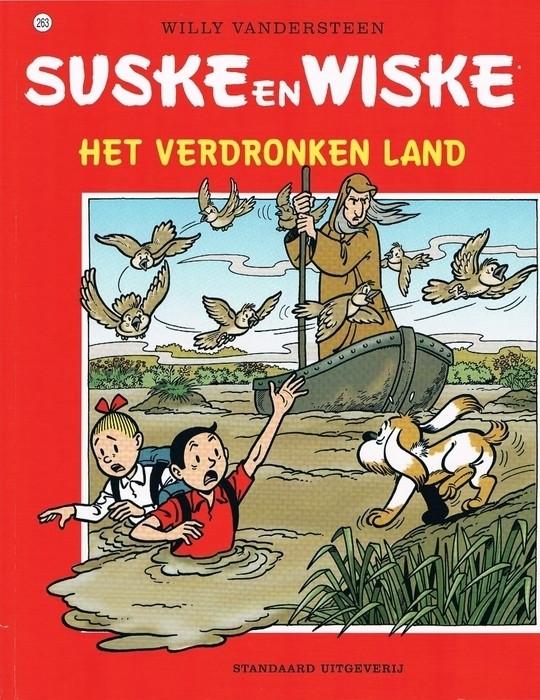 Couverture de Suske en Wiske -263- Het verdronken land