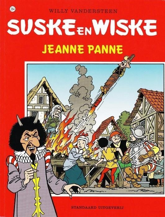 Couverture de Suske en Wiske -264- Jeanne Panne