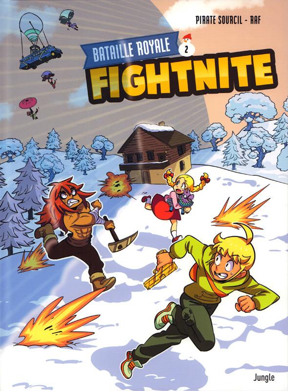 Couverture de Fightnite Bataille royale -2- La tempête