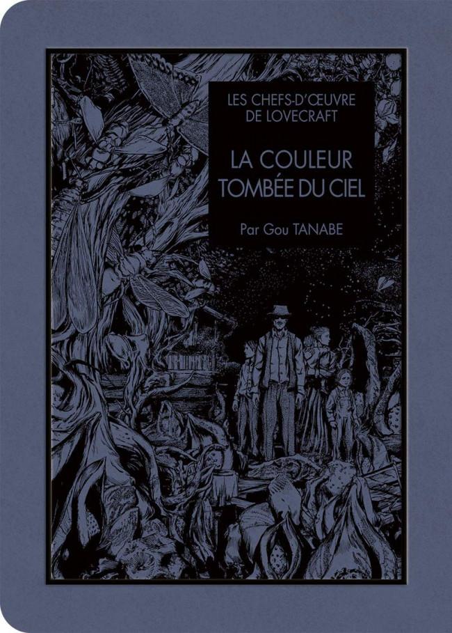 Couverture de Les chefs-d'œuvre de Lovecraft -4- La couleur tombée du ciel