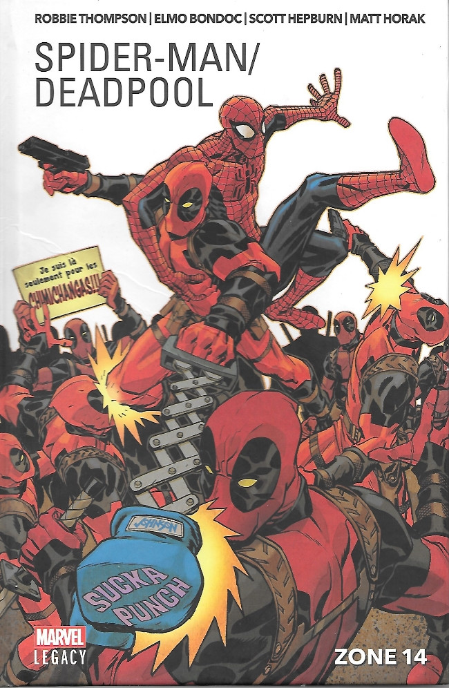 Couverture de Spider-Man/Deadpool (Marvel Legacy) -2- Zone 14
