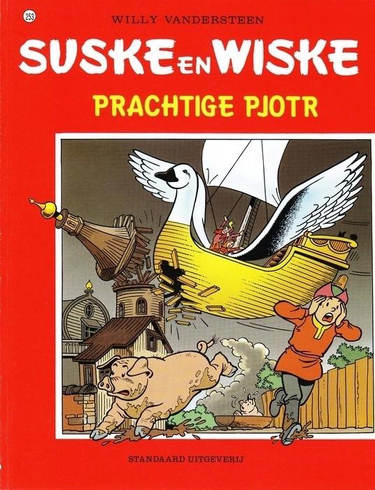 Couverture de Suske en Wiske -253- Prachtige Pjotr