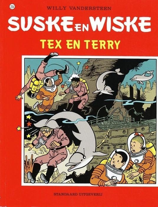 Couverture de Suske en Wiske -254- Tex en Terry