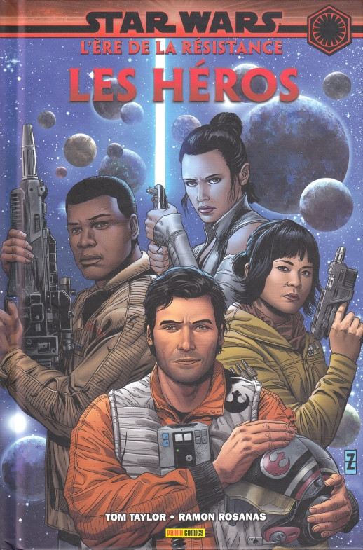 Couverture de Star Wars - L'Ère de la Résistance -1- Les Héros