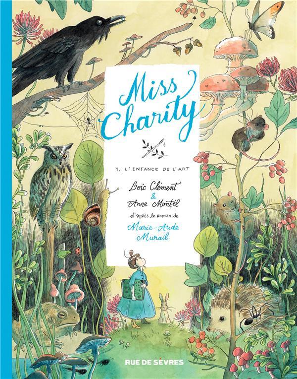Couverture de Miss Charity -1- L'enfance de l'art