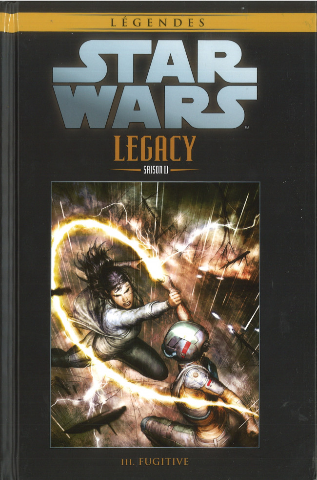 Couverture de Star Wars - Légendes - La Collection (Hachette) -11197- Star Wars Legacy Saison II - III. Fugitive