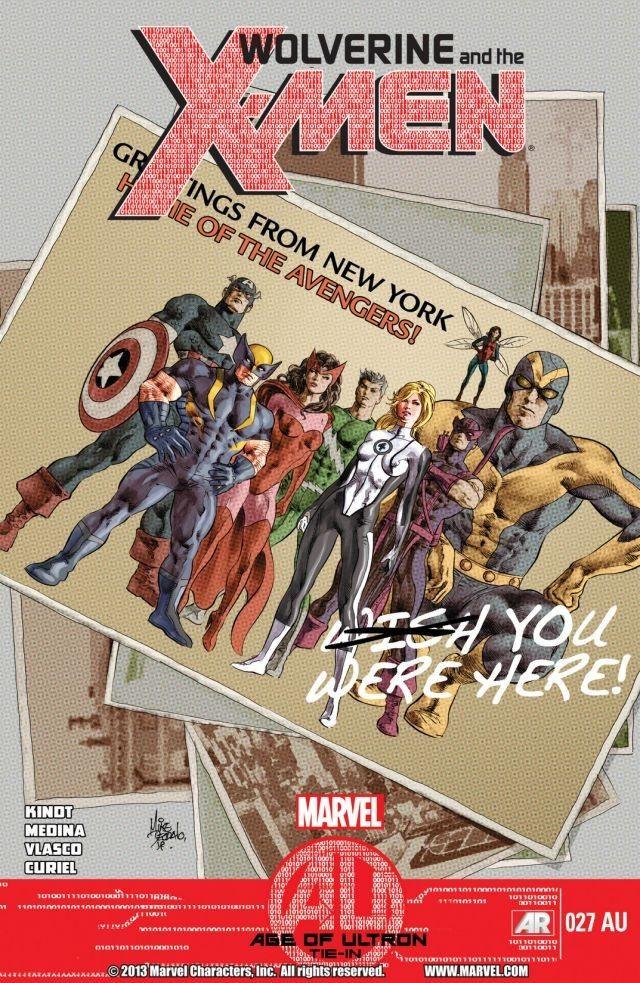 Couverture de Wolverine and the X-Men Vol.1 (Marvel comics - 2011) - Age of Ultron: Road Trip