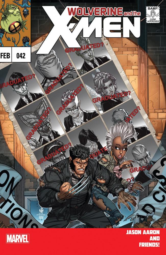 Couverture de Wolverine and the X-Men Vol.1 (Marvel comics - 2011) -42- Graduation Day