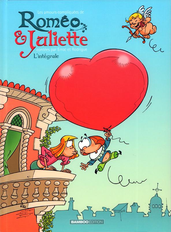 Couverture de Les amours compliquées de Roméo & Juliette -INT- L'intégrale