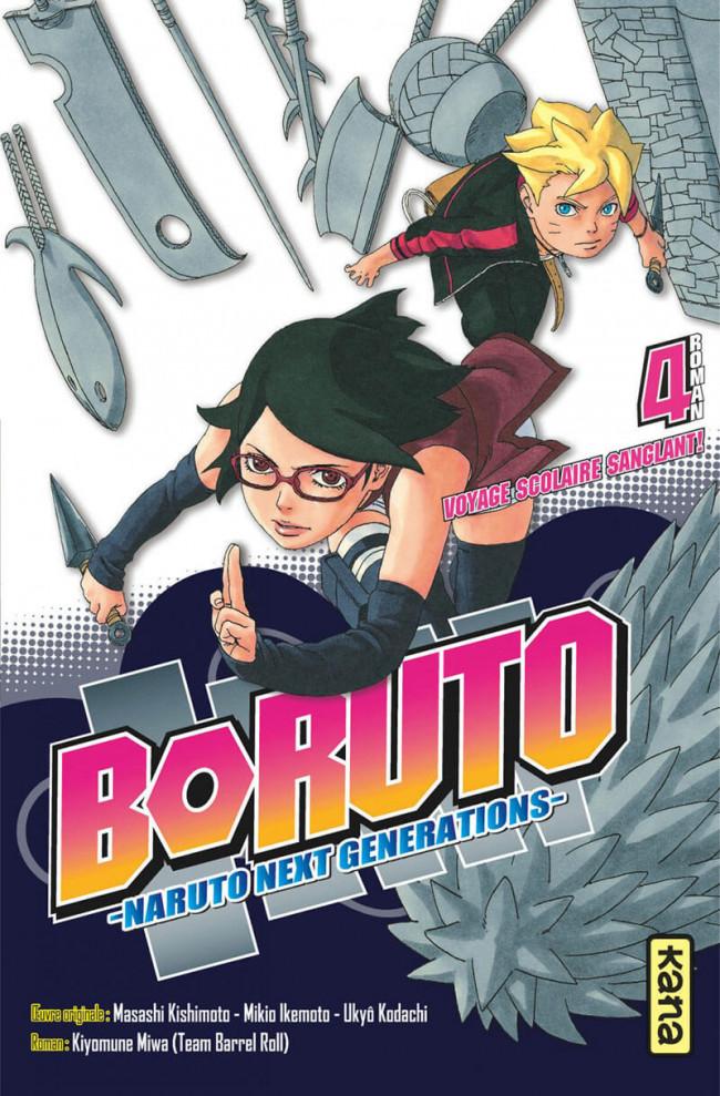 Couverture de Boruto - Naruto Next Generations -Roman04- Tome 4