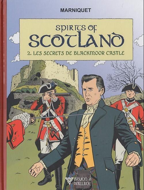 Couverture de Spirits of Scotland -2- Les secrets de blackmoor castle
