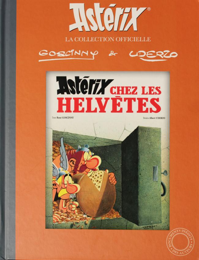 Couverture de Astérix (Hachette collections - La collection officielle) -16- Astérix chez les Helvètes